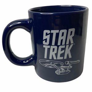 Star Trek NCC-1701 Starship Enterprise Blue Mug
